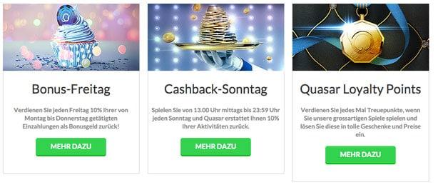 Quasar Gaming Promo Code