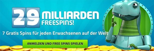 Lucky Dino Casino Bonus Code
