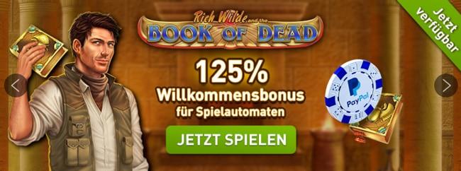 Casino Club Book of dead