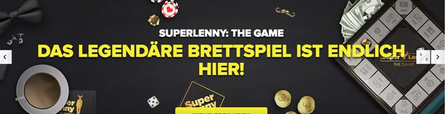 Superlenny Brettspiel